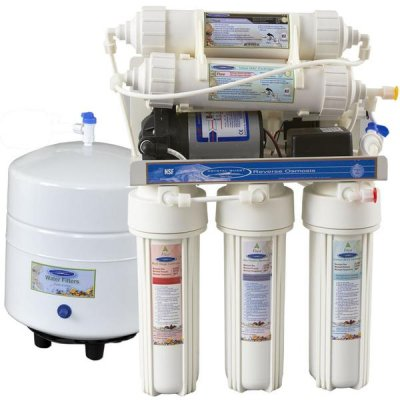 Clearly Compact 3000MP Vattenrenare RO - Reverse Osmosis/Ultra filtration med tryckpump